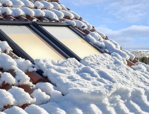 Cum se întrețin și se curăță ferestrele VELUX pe timp de iarnă?