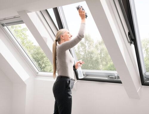 4 pași simpli pentru întreținerea ferestrelor de mansardă