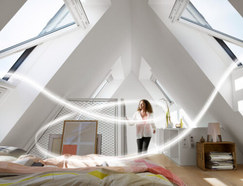 Climat interior, ventilație corectă, lumină naturală