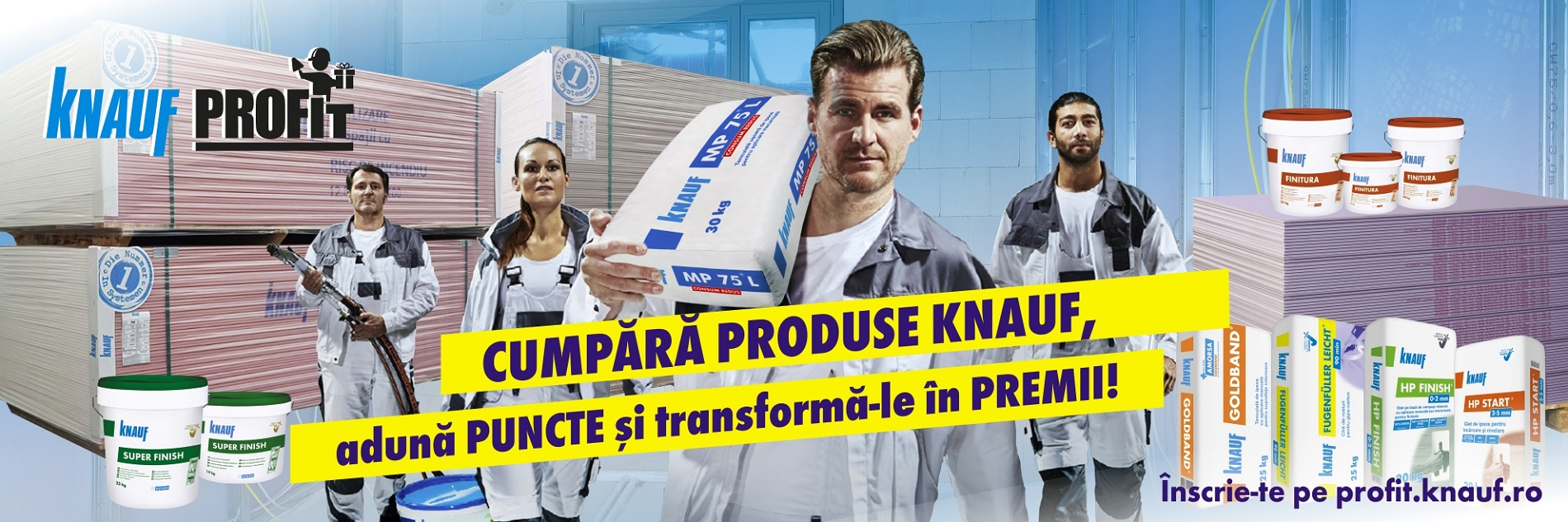 Campanie promoțională Knauf